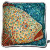 My Island Decorative Pillows, Spotted Grouper