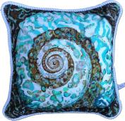 My Island Decorative Pillows, Turban Shell
