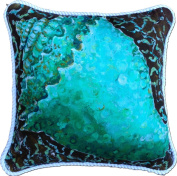 My Island Decorative Pillows, Conch Shell