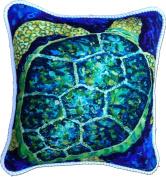 My Island Decorative Pillows, Sea Turtle