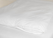 Feather Bed Covers White Double