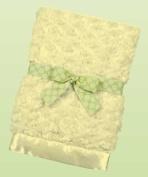 Bearington Baby - Large Swirly Snuggle Blanket, Lime