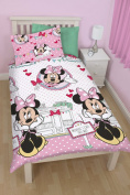 Disney Minnie Mouse Cafe Rotary Single Duvet Cover