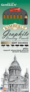 GRAPHITE SOFT DRAWING PENCIL SET
