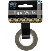 Tape Works Skull Collage Tape, Khaki