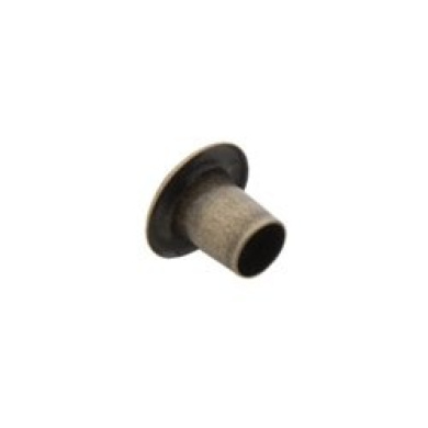 Tandy Leather 0.5cm Antique Brass Plate Eyelets 1286-15