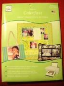 June Tailor june tailor sew-in colorfast fabric sheets for inkjet printers White 81/2 x 11 25/Pk