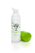 Babyganics Alcohol-Free Foaming Hand Sanitizer, Fragrance Free, On-The-Go, 50ml (Pack of 6), Packaging May Vary
