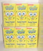 Nickelodeon Spongebob Squarepants Pocket Facial Tissue 2 Packages