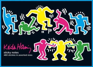 Keith Haring Sticky Notes: A Spotters Guide