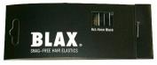 Blax 4 mm Ponytail Holders - Black