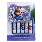 Disney Frozen 5 pk Lip Balm in Plastic Case