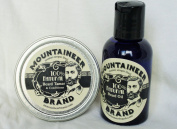 Mountaineer Brand Beard Oil/Beard Tamer and Conditioner Combo