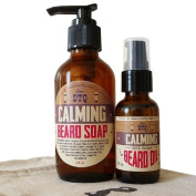 Calming Beard and Moustache Care Gift Set