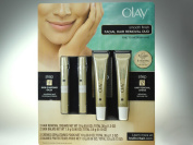 Olay Smooth Finish Facial Hair Removal Duo 2 Hair Removal Creams Net WT 19g (20ml); Total 38g (40ml) 2 Skin Balms Net WT 1.9g (0ml); Total 3.8g