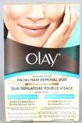 Olay Smooth Finish Facial Hair Removal Duo Kit, Fine to Medium Hair 1 Kit