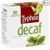 Typhoo Decaf Tea, 80-Count Tea Bags
