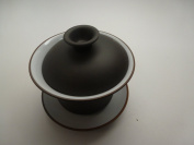 Yixing Clay Gaiwan 120ml 1pcs Best Seller Black and White