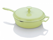 Fagor Michelle B. 3.8l Chicken Fryer with Lid, Lemon Lime