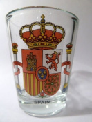 Spain Coat Of Arms Shot Glass