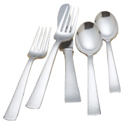 Reed & Barton Silver Echo 18/10 Stainless Steel 5 Piece Place Setting