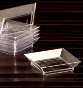 EMI Yoshi Koyal Abyss Dish, 6.4cm , Clear, Set of 200