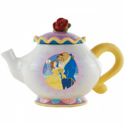 Westland Giftware Ceramic 17cm Disney Beauty and The Beast Teapot, 890ml