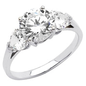 14k Yellow OR White Gold SOLID Wedding Engagement Rings