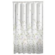Maytex Dragonfly Garden Fabric Shower Curtain