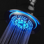Dreamspa® All-chrome Water Temperature Colour-changing LED Shower Head