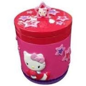 Hello Kitty Covered Jar ~ New