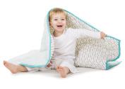 Baby Deedee Toddler Quilt, Dream Blue