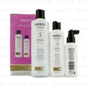Nioxin - System 3 System Kit For Fine Hair, Chemically Treated, Normal to Thin-Looking Hair 3pcs