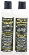 Naturals New Zealand East Cape Manuka Oil and Active Manuka Honey Shampoo and Conditioner Set 8oz/236ml each