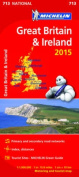 Great Britain & Ireland Map 2015
