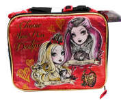 Purple Monster High Ever After High Choose Your Own Destiny Lunch Bag