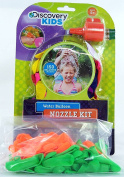 Discovery Kids 150 Water Balloons & Refill Nozzle with a Bonus of 100 Extra Balloons.