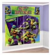 Teenage Mutant Ninja Turtle Giant Scene Setter Wall Decorating Kit Birthday