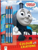Thomas and Friends Colour with Crayons