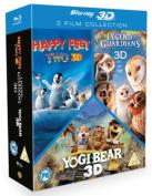 Happy Feet 2/Yogi Bear/Legend of the Guardians - The Owls Of... [Region B] [Blu-ray]