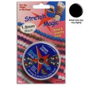 3mm Diameter Stretch Magic Bead Jewellery Elastic Cord Clear or Black in 5 or 25 Metres