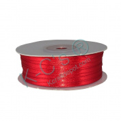 "1/8""(3mm) Double Faced Satin Ribbon 100 Yards - Red"