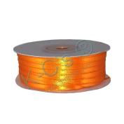 "1/8""(3mm) Double Faced Satin Ribbon 100 Yards - Orange"
