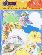 """Remember When Deluxe Kit for Your Scrapbook """"Spring"""" RWDLX-112"""