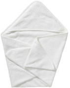 Double-Ply, Super Absorbent Knit Hooded Bath Towel, Large