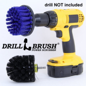 Bathroom and Kitchen Sink and Tile Power Scrubber Brush Kit