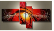 Framed & Stretched!! High Quality 100% Hand Painted Wall Art Canvas Oil Painting for Home Decor