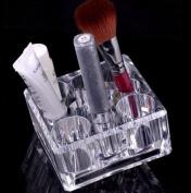 JOVANA Luxury Acrylic Cosmetic Organiser Makeup Brushes Holder