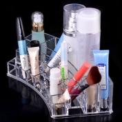 JOVANA Luxury Acrylic Cosmetic Organiser Makeup Brushes Lipstick Holder Office Organiser