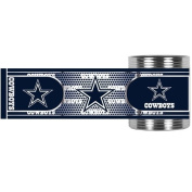 Dallas Cowboys Stainless Steel Can Holder with Hi-Def Metallic Graphics